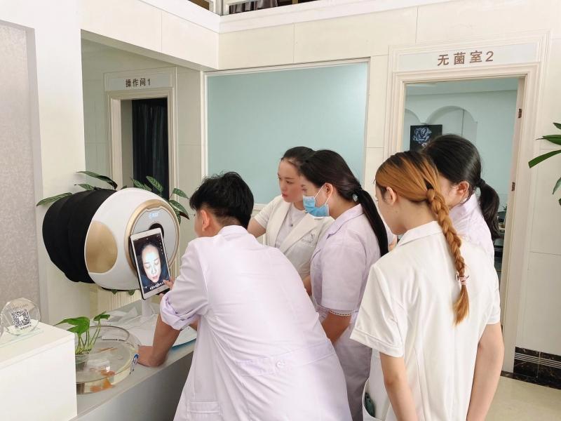 佛山美容店引进美测皮肤检测仪